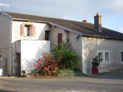 Photo for cottage Angevin 2 to 4 people 60m ² with independent entrance