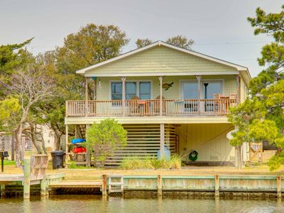 Photo for RATES REDUCED! Private dock w/ 4 KAYAKS, 3 bed 1.5  bath
