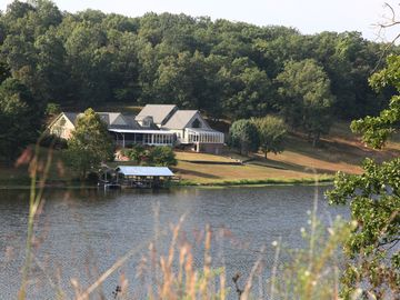 Family friendly home on 37-acre private lake, located on 342 acres