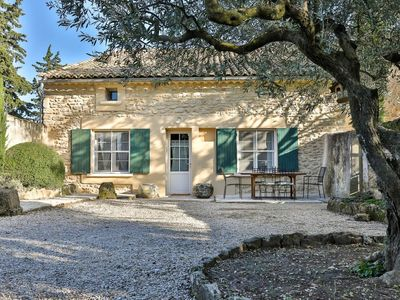 Photo for The Provence Luberon vineyard house.
