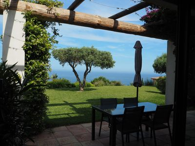 Photo for Large apartment with outstanding sea view