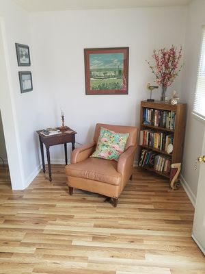 Living  room  reading  area