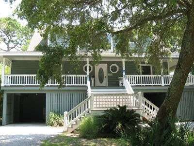 Photo for On Canal with Dock~Walk to Beach, Marina, Activity Center~Screened Patio  Please ask us about Golf Packages for Monthly Rentals!!!!
