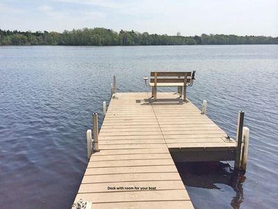 Photo for Beautiful Large Lake House For  Family And Friends , WI permit #76798