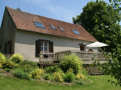 Photo for Fantastic holiday home with large garden in cultural surroundings of Saint-Ay