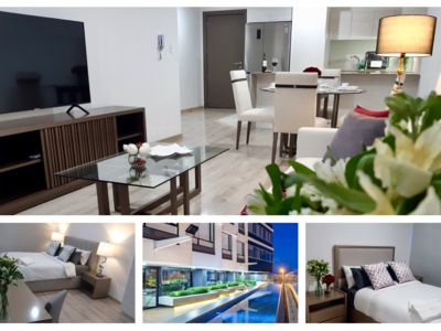 Photo for Gorgeous 2 Bedroom Luxury Apartment With Pool, Gym, View & More in Quito