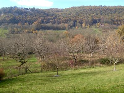 Photo for Stunning views, Studio with garden, near Martel, The Lot