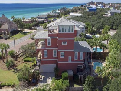 Photo for View of Blue - Blue Mtn Beach! 30A! Gulf View! Private Pool! Complimentary Bikes