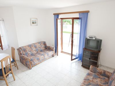 Photo for One bedroom apartment with balcony Privlaka, Zadar (A-11461-c)
