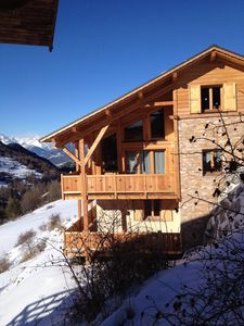 Photo for New chalet in larch 150 M2 House 12 persons and Standing Near the slopes