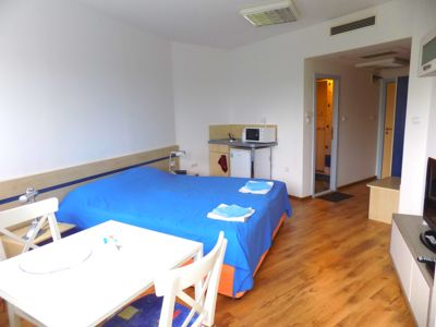 Cozy Air-conditioned Studio With A Balcony And A View Of The Park Of Euxinograd!