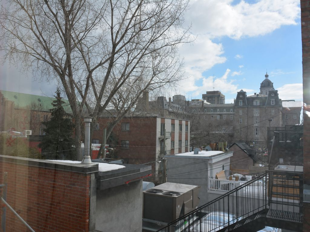 Best location! 3bedrooms 4bathrooms + front st terrace on Le Plateau (sleeps 11)