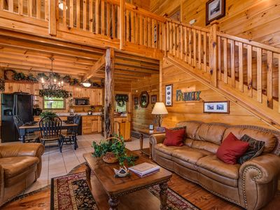Photo for 902388 ~ Willow Tree Cabins ~ Smoky Cove Resort~ Cancellation Sept 26-29