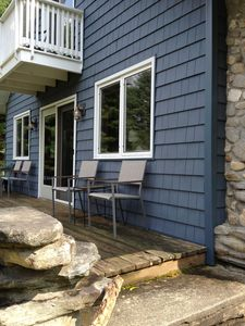 House overlooks the water, peaceful, private Berkshire beauty!