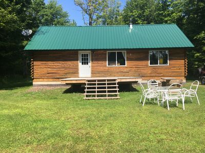 Camp on 20 acres surrounded by state land.