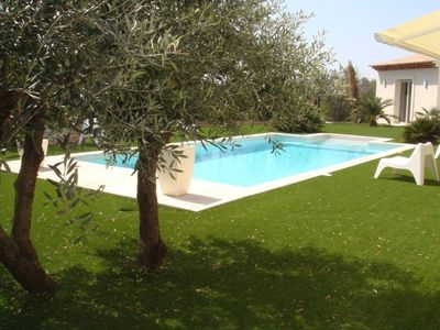 Photo for Luxury villa with nice benefits. Relaxing and pleasant environment