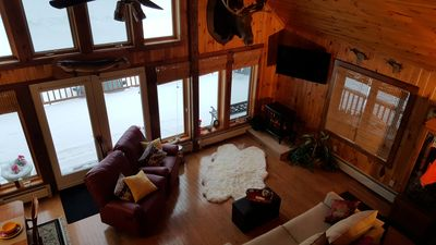 Photo for 3 Bed, 1.5 Bath Rustic, Private Chalet Booking for Snowmobile Season