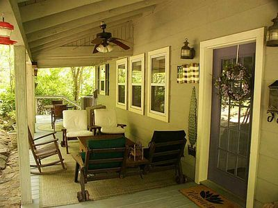 The owner's porch