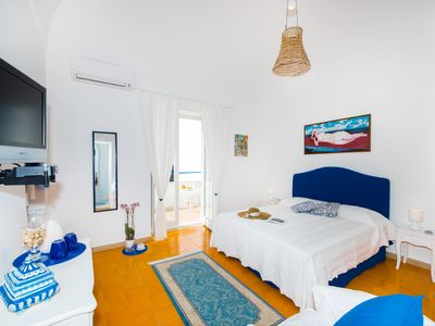 Photo for BLUE HOUSE DAMA is centrally located in the heart of Positano has a Beautiful view
