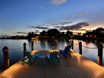 Photo for Bahama Breeze-Location! Great Views Above Intersecting Canals w Short Gulf Acces