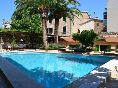 Photo for CASA SEÑORIAL WITH GARDEN AND POOL IN CENTRO SOLLER