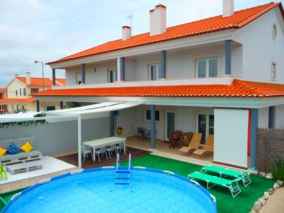 Photo for Villa Jacinto - NEW, Spacious, Comfortable, Beach & Culture, 45 min. of Lisbon
