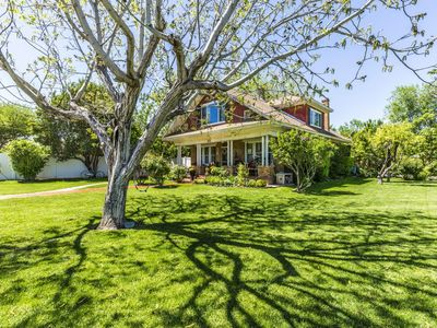 Photo for Historic 4 bed 2 bath Home near Zion National Park.Beautiful Yard Porch & Patio