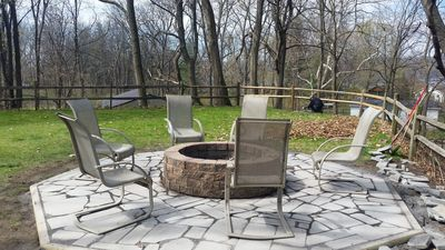 Photo for Quiet Lakeview Home, 1.5 acres, Paved Road. HotTub, Firepit, Air Cond, free WIFI
