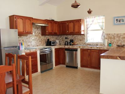 Photo for Custom 3 bedroom 3 bath fenced home in the heart of Pedasi