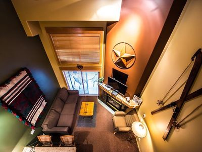 Photo for Loft Condo in the Heart of Big White with a Gas Fireplace
