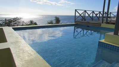 Cas Chi Chi- Sunset views from pool/terrace- easy access to turquoise waters!