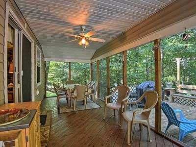 Photo for Peaceful 3BR Home w/ Deck near Lake Wallenpaupack!