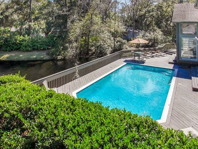 Photo for Private Estate Close to HarbourTown with Wonderful Pool- Sun filled!