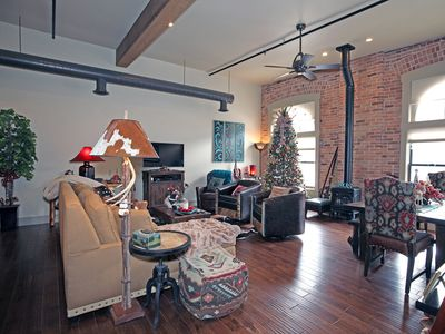 Photo for New Listing! - Luxury Loft - Overlooking Main Street - Downtown Ouray