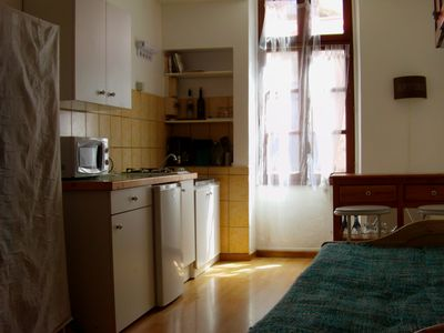 Photo for Charming furnished studio in the heart of Agde.