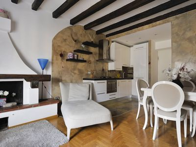 Photo for Modern 2bdr on 2 levels in Porta Genova, Milan