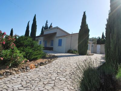Photo for Villa with private swimming pool, large garden and lots of privacy