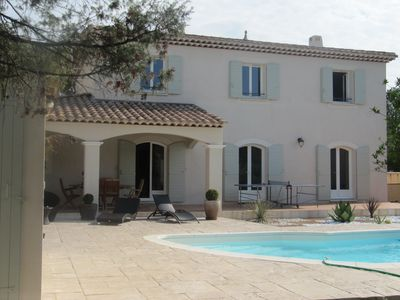 Photo for Beautiful Villa (Bastide) close to the sea and Pic Saint Loup