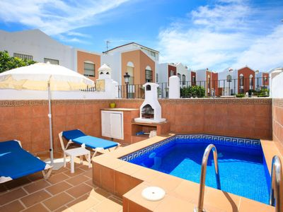 Photo for Nerja Holiday Home, Sleeps 6 with Pool, Air Con and Free WiFi