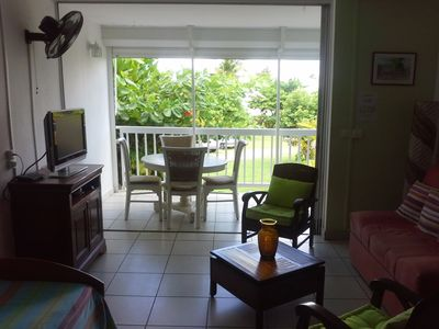 Photo for Seasonal rental T2 exceptional location 250 meters from the beach
