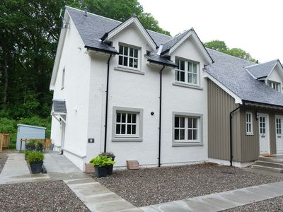 Photo for Peaceful situation, yet walking distance to centre of town, dog friendly.