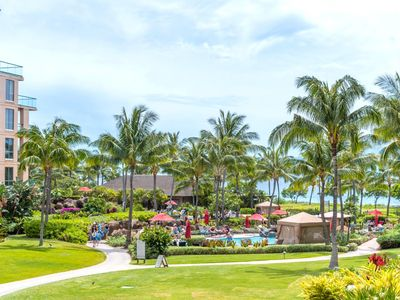 Photo for K B M Hawaii: Ocean Views, InnerCourtyard 2 Bedroom, FREE car! Jul & Sep Specials From only $251!