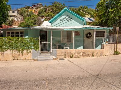 """Photo for The Music Shack is a groovy """"decades of music"""" themed  former miners residence."""