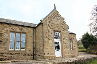 Frontage of the Old Boys School