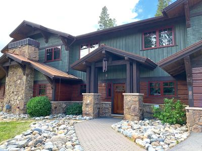 Photo for Make mountain memories in this remodeled lodge