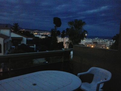 Photo for Two rooms with sea view terrace and parking, 200 mt. from the beach.