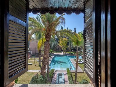 Photo for Awesome Villa in Marrakech Palmeraie - Villa ALPHA