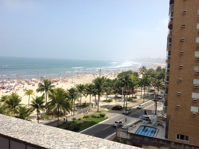 Photo for Beautiful Apt in the best location, facing the beach and overlooking the sea