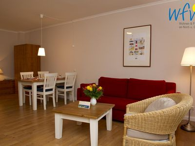 Photo for Apartment with north-facing terrace and view of the countryside!