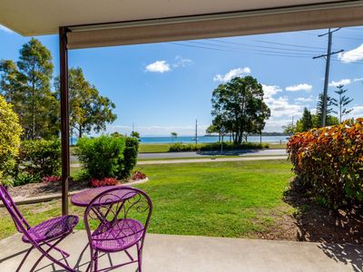 Photo for Ground Floor with water views and pool!